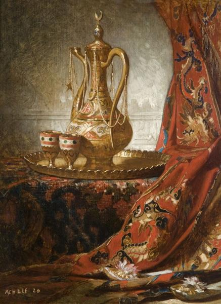 Composition À La Théière, 1901 - Achille Zo