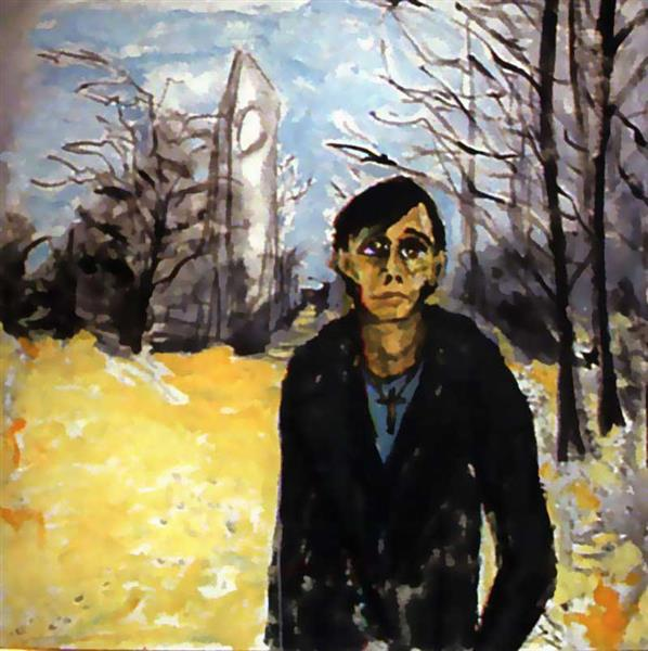 Berlin Landscape with JO, c.1978 - David Bowie