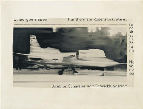 Schärzler, 1964 - Gerhard Richter