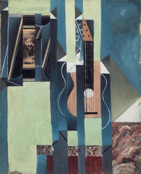 The guitar, 1913 - Juan Gris