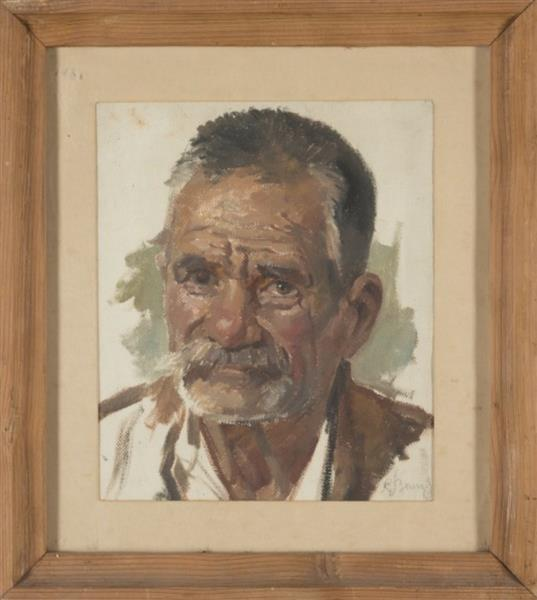 Portrait of an Old Man, c.1930 - Simeon Velkov