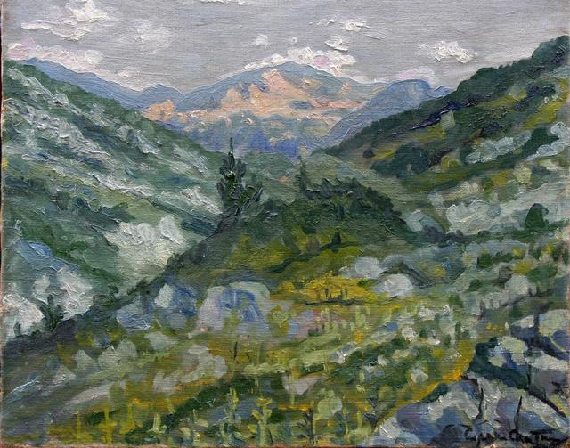 Mountain Landscape - Sirak Skitnik