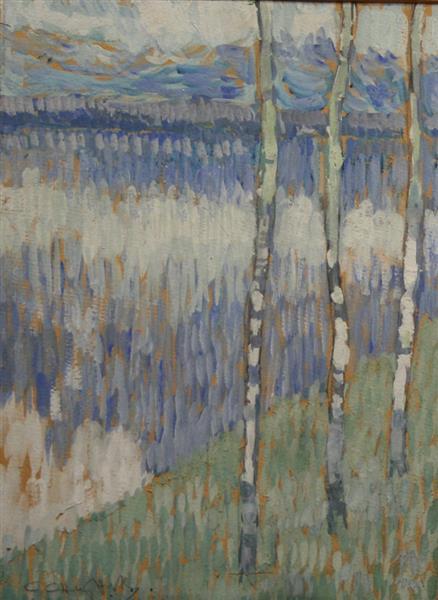 Birch Trees - Sirak Skitnik