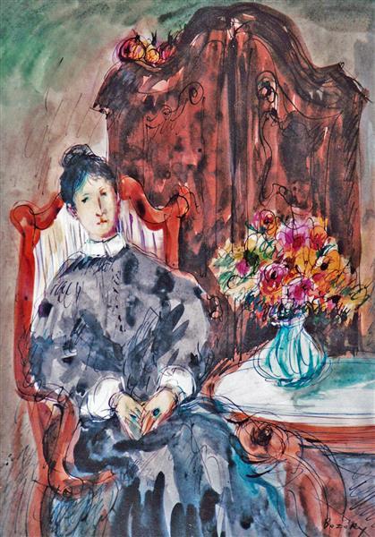 Biedermeier Milieu (Mood), c.1994 - Maria Bozoky