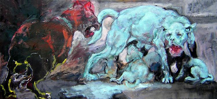 Dogs I, 2007 - Carmen Delaco