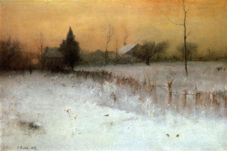 Home At Montclair, 1892 - Джордж Иннесс