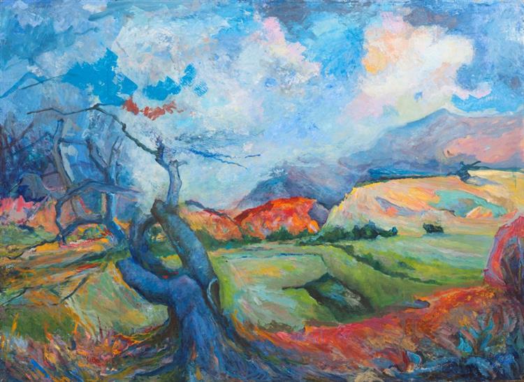 Albero Blu, 1982 - Paolo Salvati