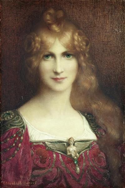 A Young Lady - Elisabeth Sonrel