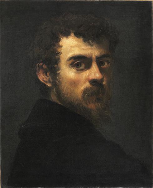 Self Portrait, c.1546 - c.1548 - Tintoretto