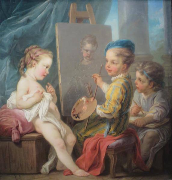 Painting, 1753 - Шарль Андре Ван Лоо
