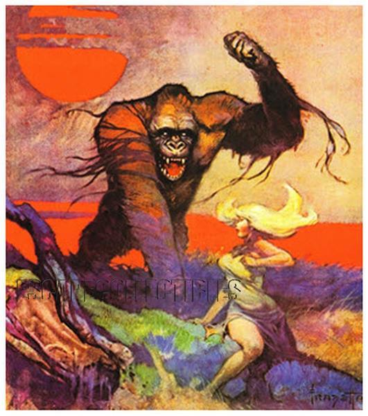 Kong - Frank Frazetta