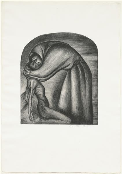 The Franciscan, 1929 - Jose Clemente Orozco