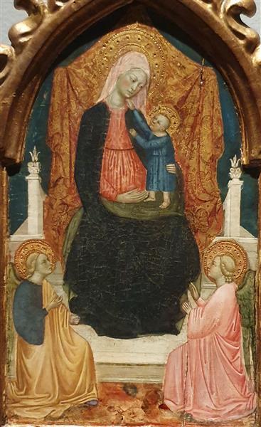A Virgem em Majestade, 48 - Álvaro Pires de Évora