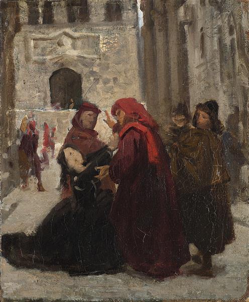 La Supplica - Giuseppe Abbati