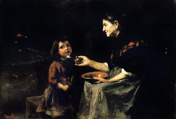La Abuelita, 1897 - Joan Brull