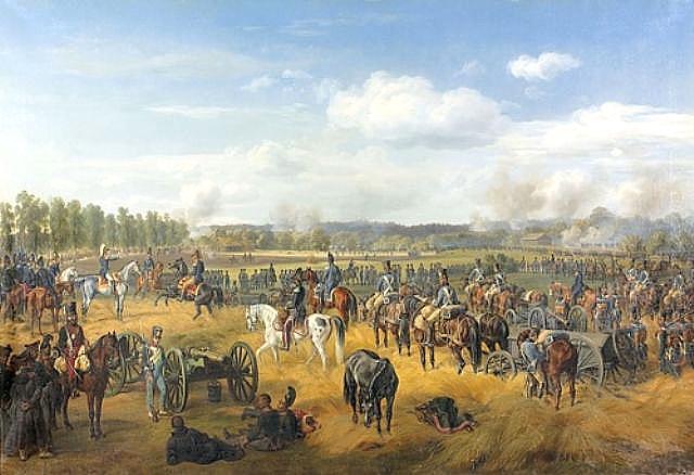 Battle of Ostrovno 1812, 1845 - Albrecht Adam