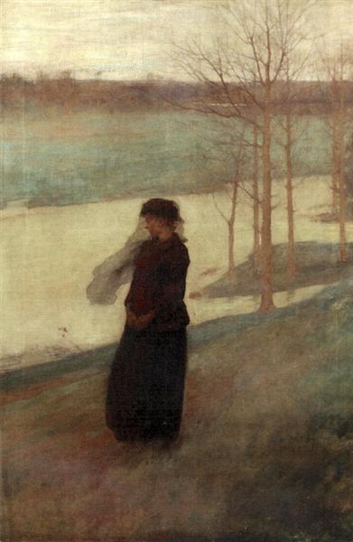 The Widow, 1882 - Frank O'Meara