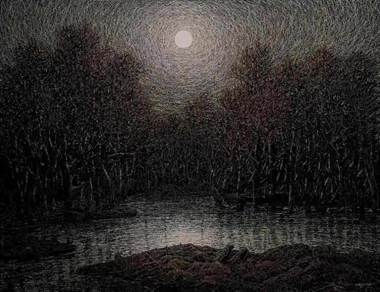 Landscape, 1980 - Ivan Marchuk