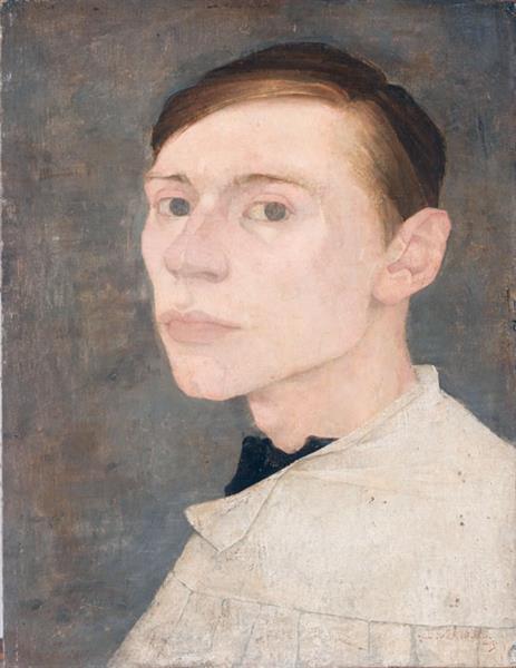 Self Portrait, 1909 - Jan Mankes