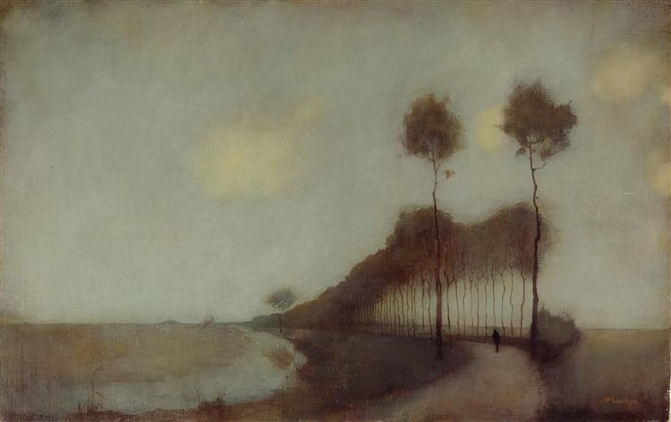 Forest Road near Oranjewoud, 1912 - Jan Mankes