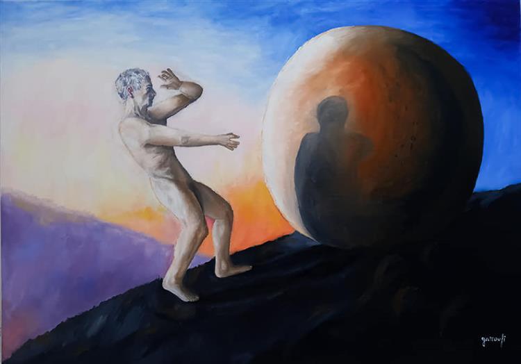 An Existential Crisis Outside Plato's Cave, 2019 - 2020 - Sami Gattoufi