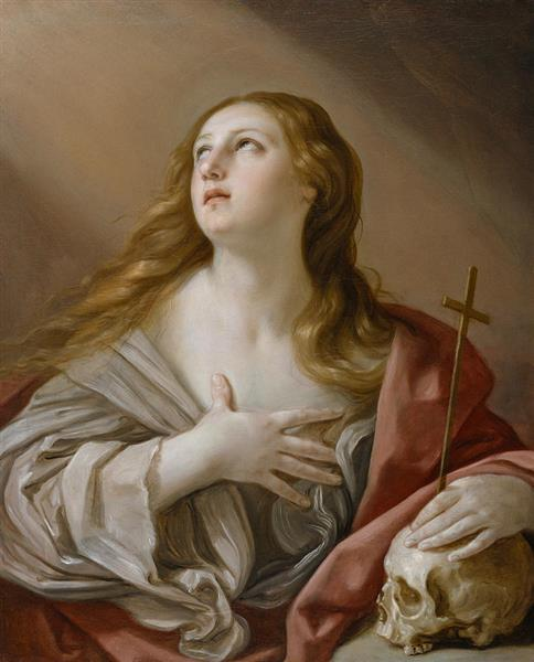 The Penitent Magdalene, 1635 - Гвидо Рени