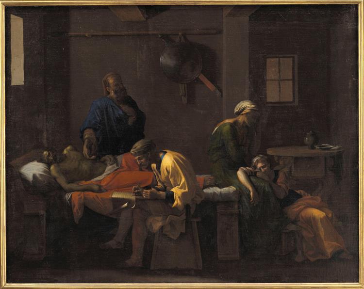 The Testament of Eudamidas, c.1653 - Nicolas Poussin