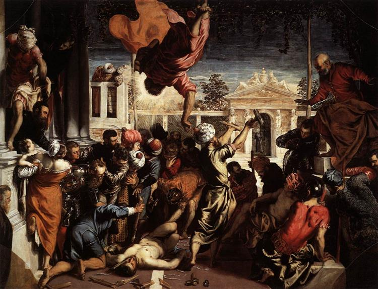 The Miracle of St Mark Freeing the Slave, 1548 - Tintoretto