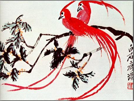 Birds of Paradise, 1940 - Qi Baishi