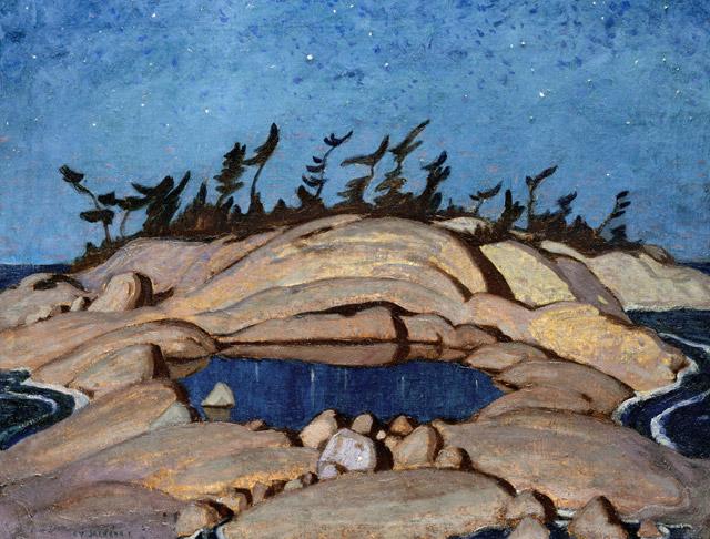 Night Pine Island, 1921 - A.Y. Jackson