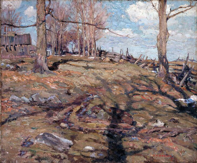 The Edge of the Maple Wood, 1910 - A.Y. Jackson