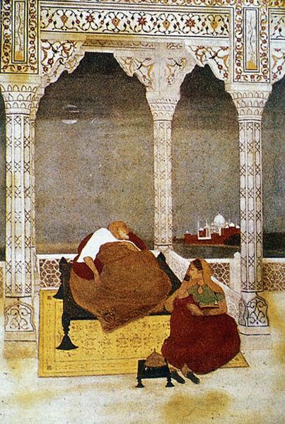 The Passing of Shah Jahan, 1902 - Abanindranath Tagore