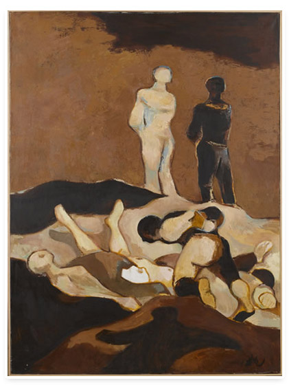 Disasters of War: Evocations of Goya, 1955 - Abidin Dino