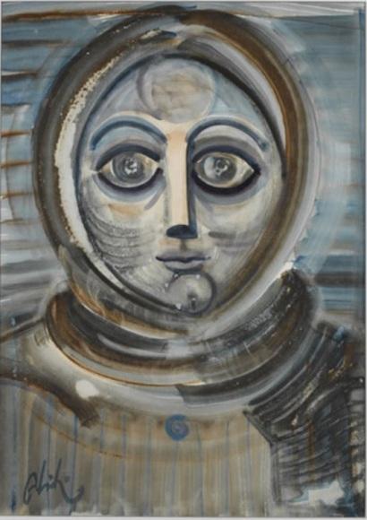 Portrait, 1970 - Абідін Діно