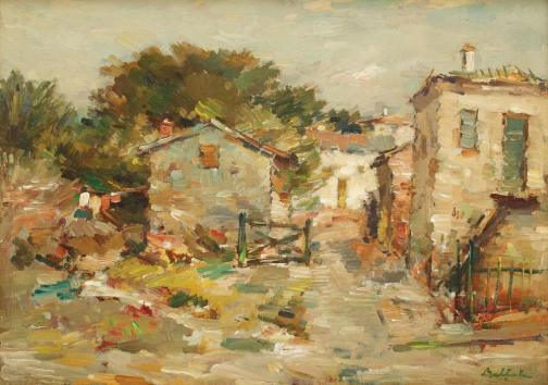 Landscape with Houses - Adam Baltatu