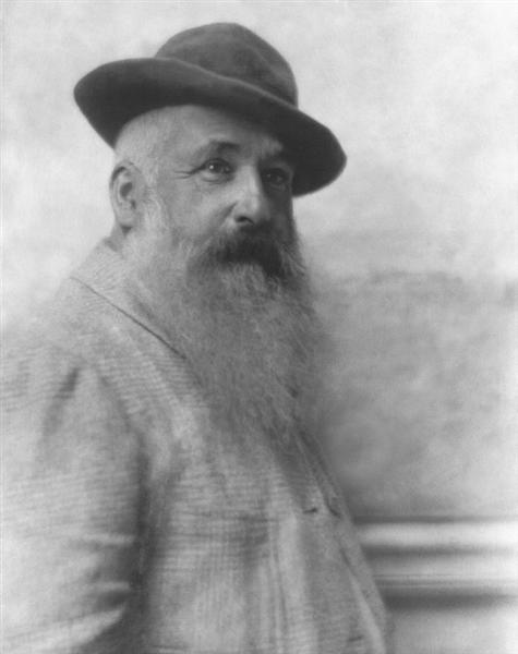 Claude Monet, 1921 - Adolphe de Meyer