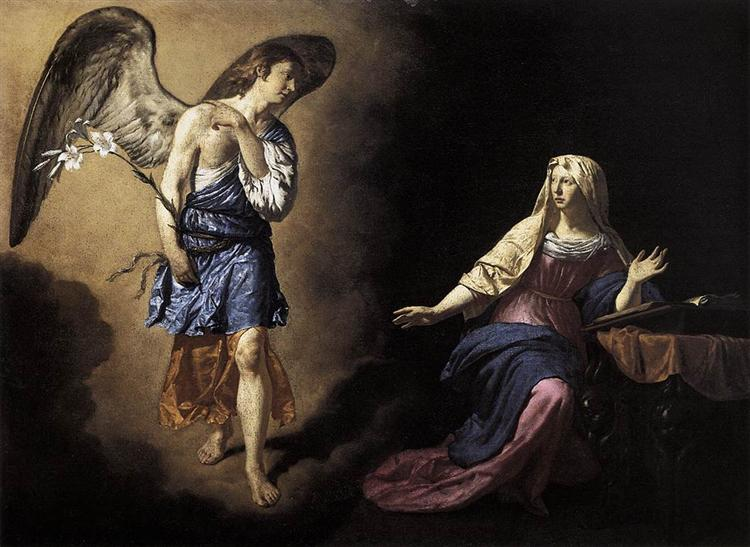 The Annunciation, 1667 - Adriaen van de Velde