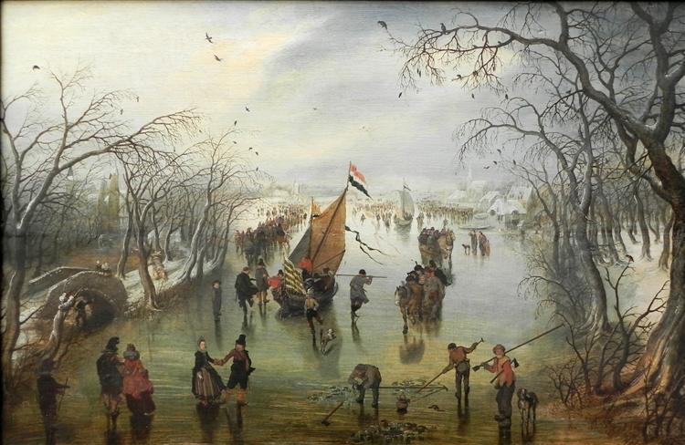 Χειμερινή σκηνή, 1614 - Adriaen van de Venne