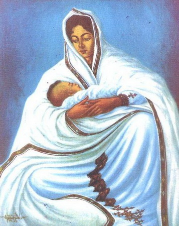 Mother Ethiopia - Afewerk Tekle