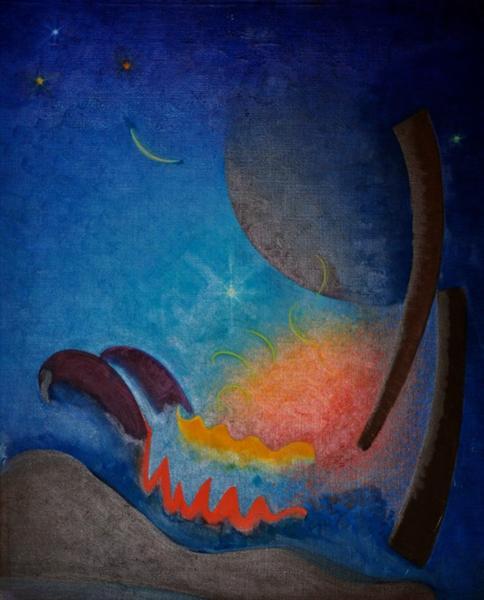 Night Fires - Agnes Lawrence Pelton
