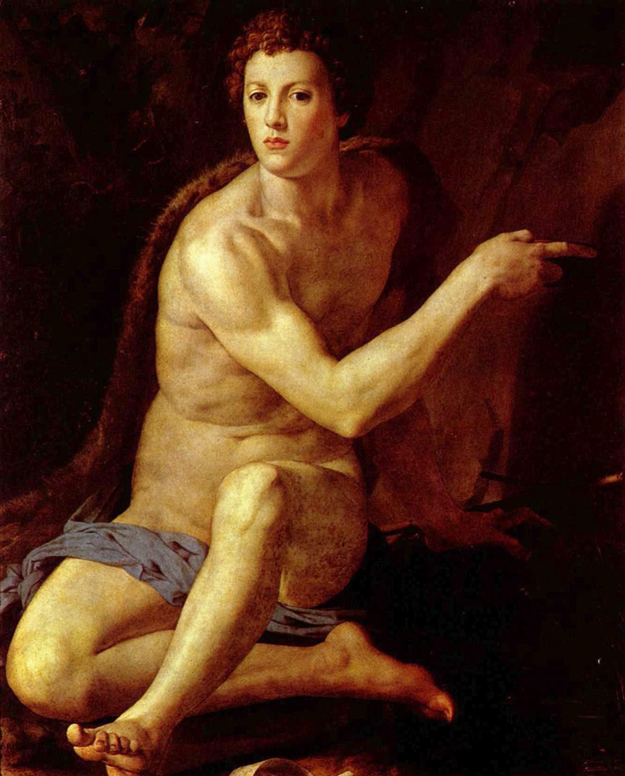 Saint John the Baptist, 1553