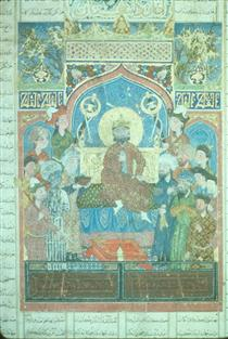 Iskandar enthroned - Ahmad Musa