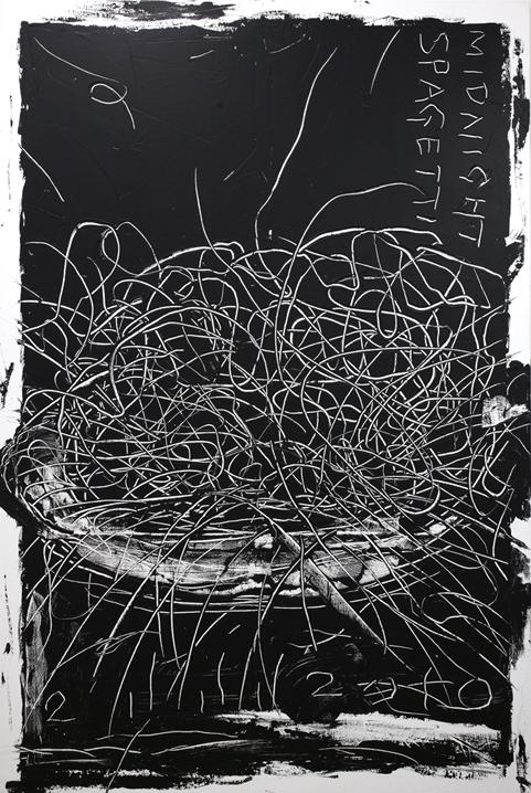 Midnight Spaghetti - Aki Kuroda - WikiArt.org