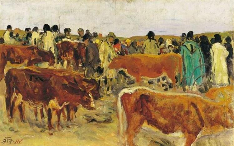 Fair, 1917 - Aladar Korosfoi-Kriesch