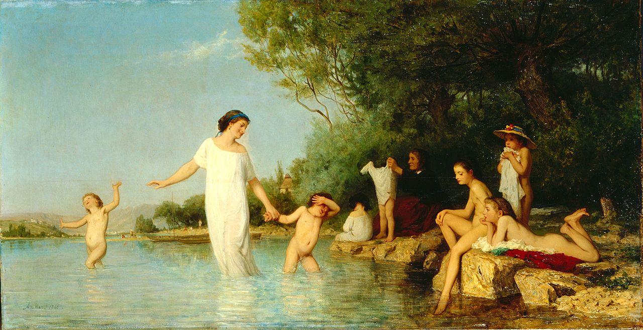 Bathers, 1865