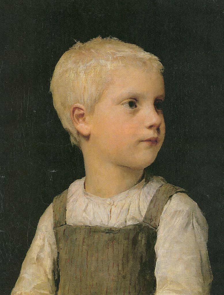 Bildnis eines Knaben (Walter Stucki?), 1891