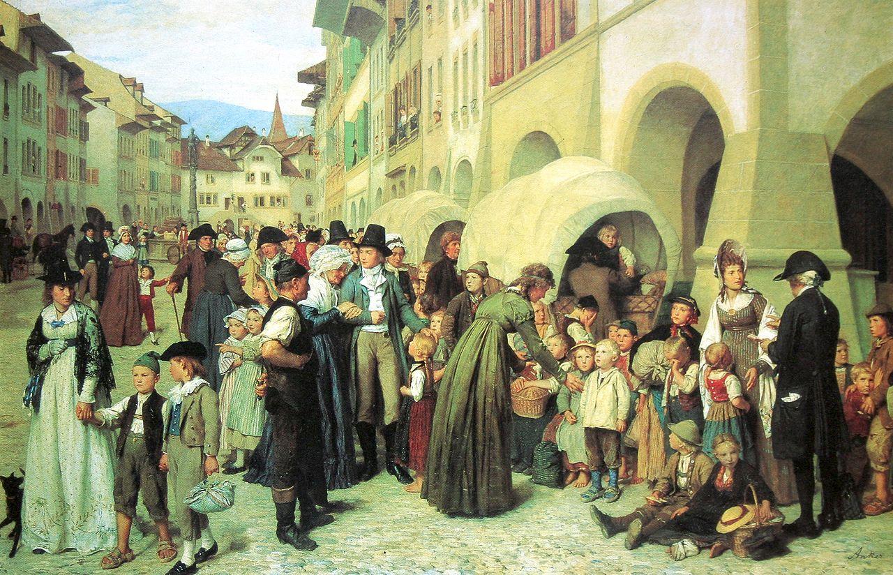 Die Länderkinder, 1876