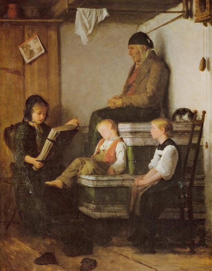 Sunday afternoon, 1861