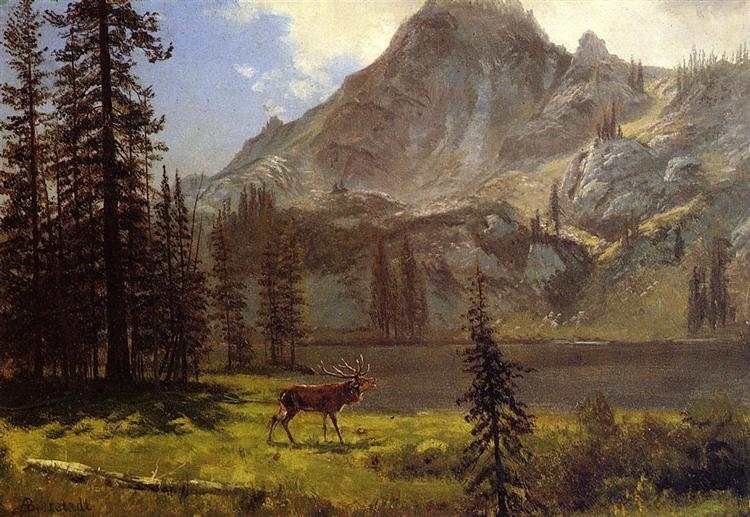 Call of the Wild - Albert Bierstadt