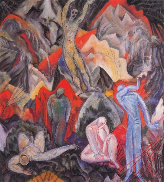 Lied I, 1914 - Albert Bloch